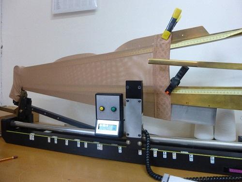 Měřící přístroj na kompresní punčochy