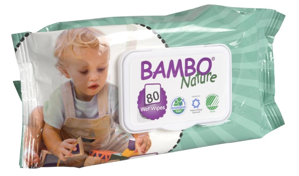 Bambo Nature vlhčené ubrousky
