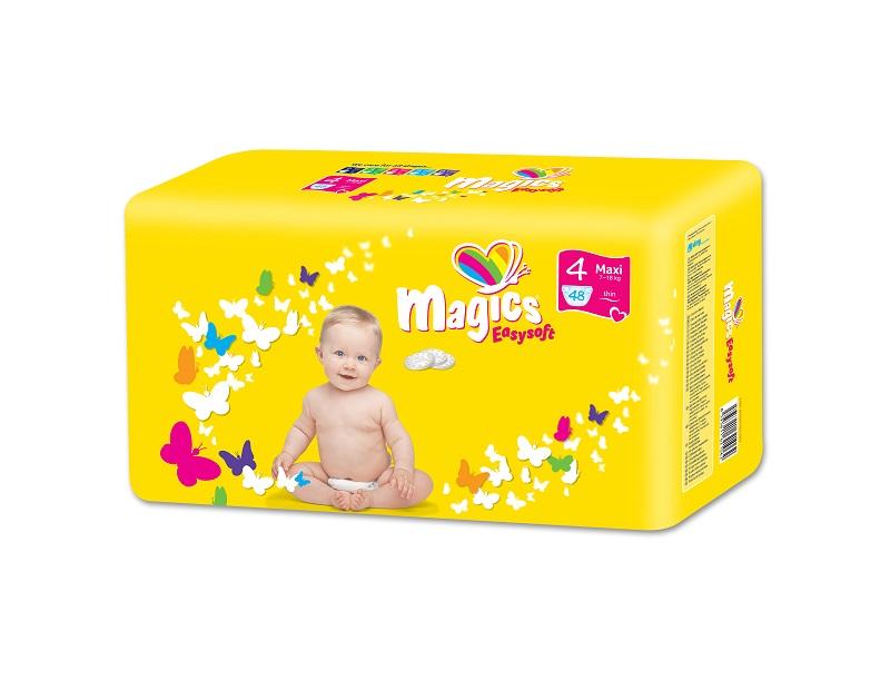 MAGICS Easysoft Maxi 7-18 kg 48 ks