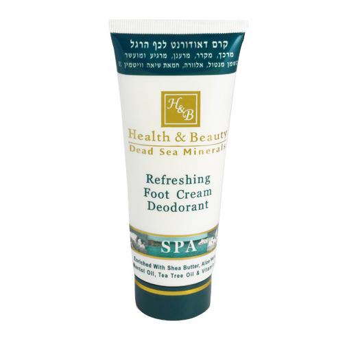 Osvěžující krém na nohy s deodorantem 100 ml