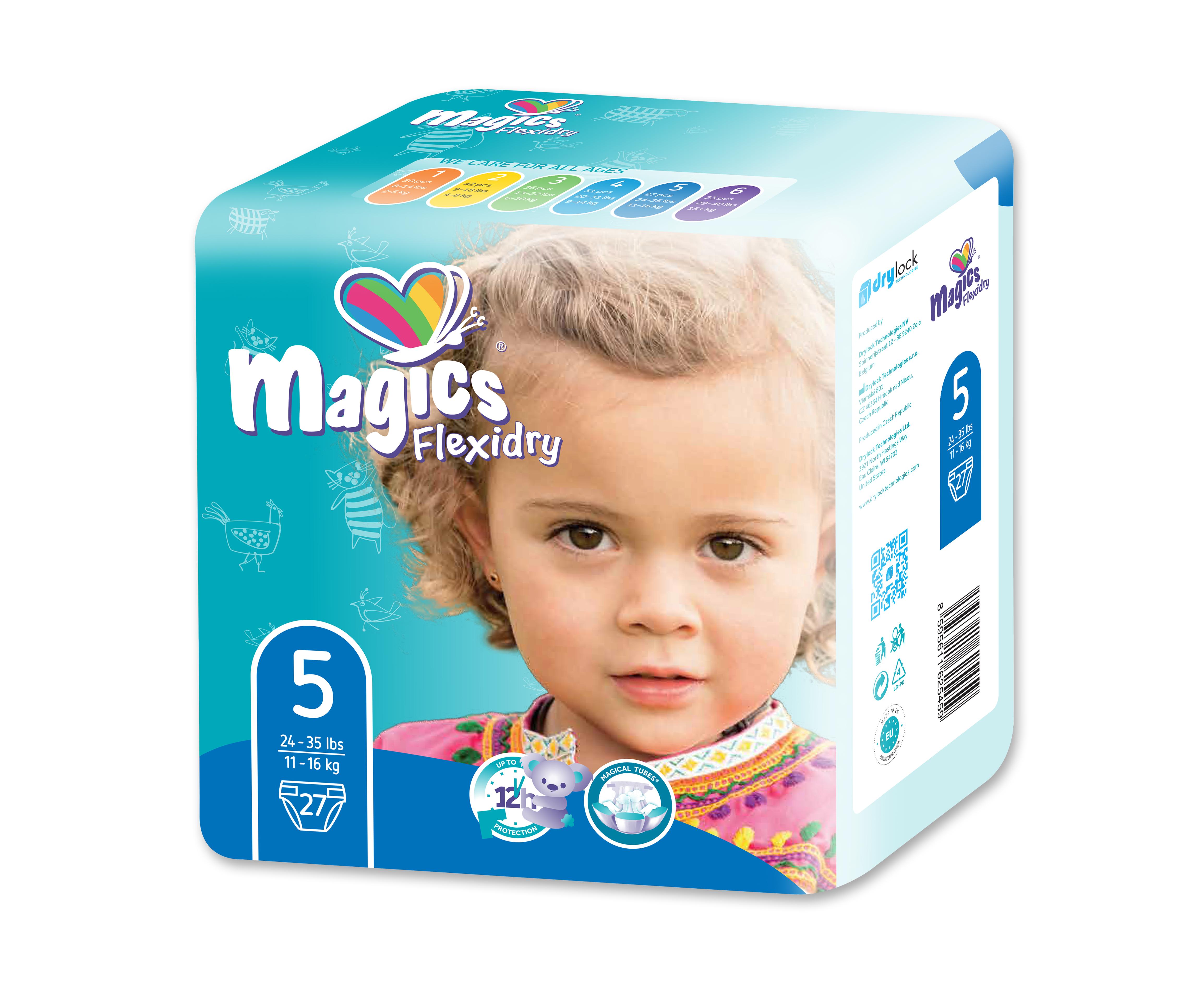 MAGICS Flexidry Junior 11-16 kg 27 ks