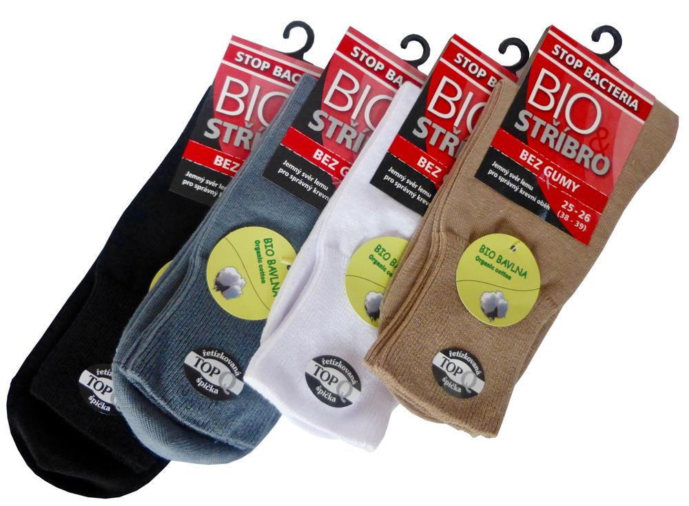 Zdravotní ponožky s jemným svěrem
