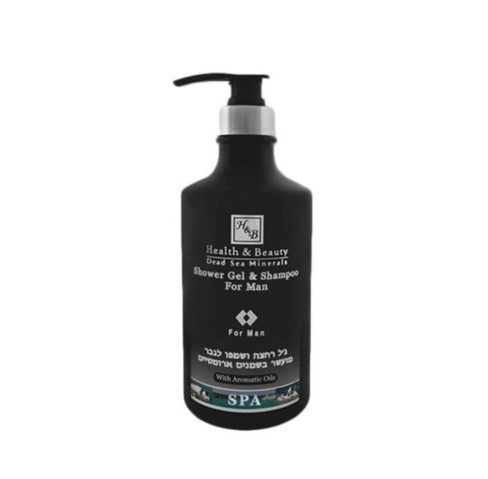 Sprchový gel a šampon v jednom