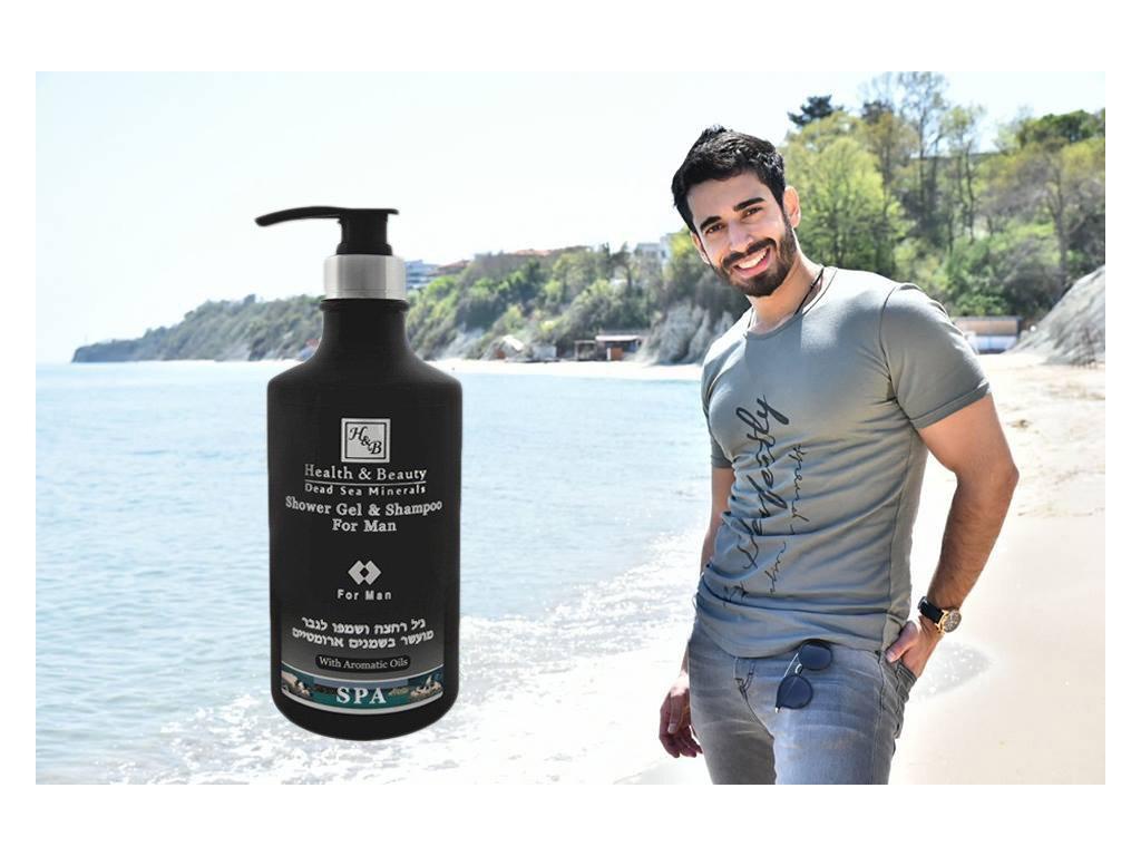 Sprchový gel a šampon v jednom 780 ml
