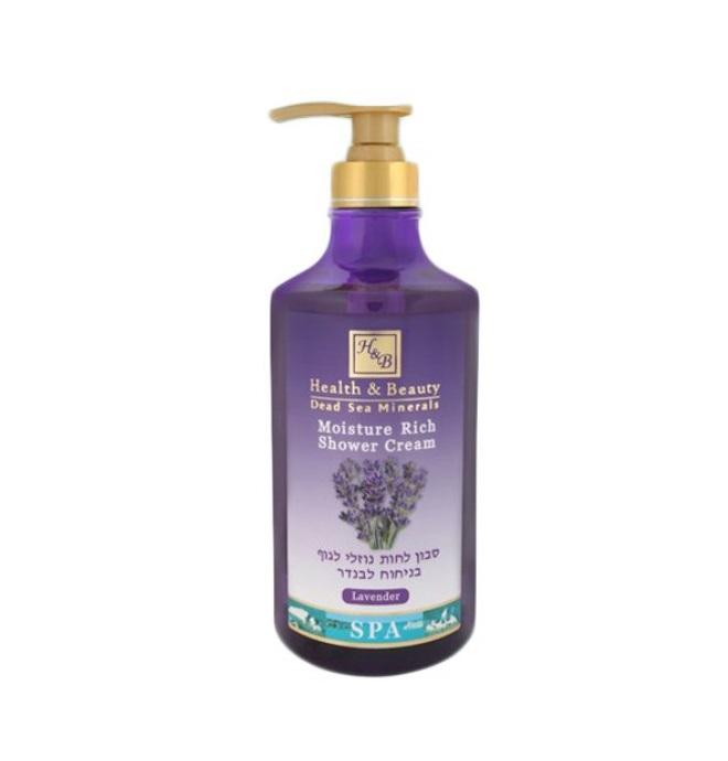 Sprchový krém levandule 780 ml