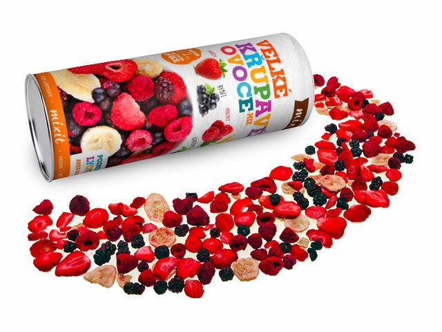 Velké křupavé ovoce