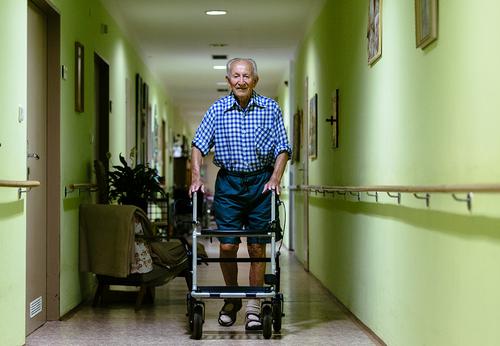 Chodítko pro seniory
