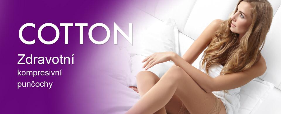 Cotton zdravotní kompresní punčochy