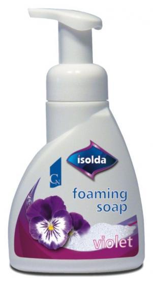 Isolda pěnové mýdlo violet 300 ml