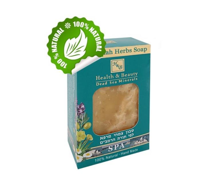 Léčivé bylinkové mýdlo