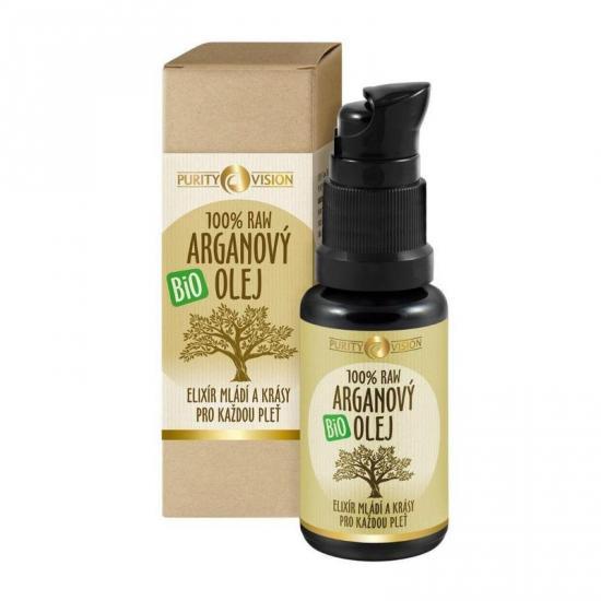 PURITY VISION Raw Bio Arganový olej 30 ml