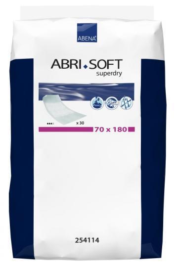 Abri Soft Superdry savé podložky se záložkami 70x180 30 ks