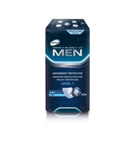 TENA Men Level 1, vložky pro muže 24 ks