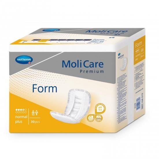 MoliCare Premium FORM Normal Plus vložné pleny 30ks