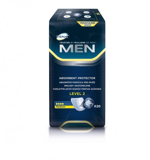 TENA Men Level 2, vložky pro muže 20 ks