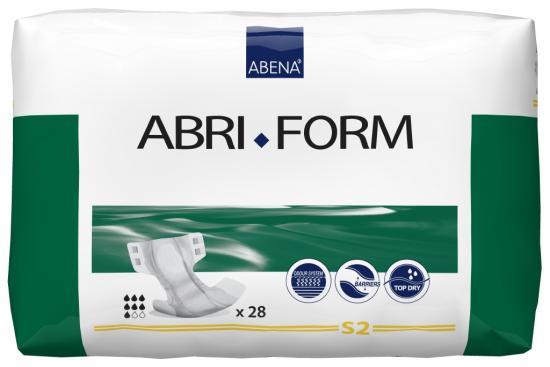 Abri Form S2 kalhotky zalepovací 28 ks