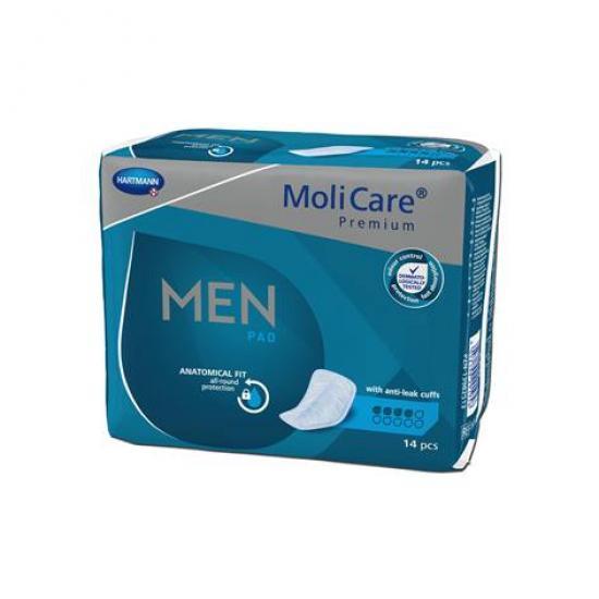 MoliCare Men 4 kapky vložky pro muže 14 ks