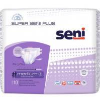 Super Seni Plus Medium kalhotky zalepovací 10 ks