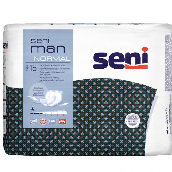 Seni Man Normal vložky pro muže 20 ks