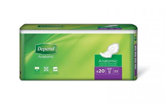 Depend Super Plus vložné pleny 20 ks