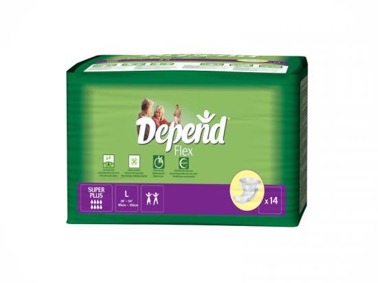 Depend Flex Super Plus L kalhotky zalepovací 14ks