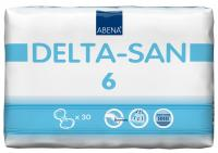 Delta San no.6 vložné pleny 30 ks