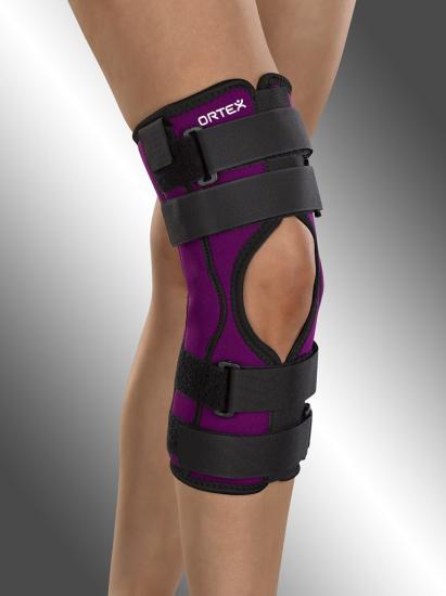 Ortéza kolenní Ortex 04A s jednoduchým kloubem krátká