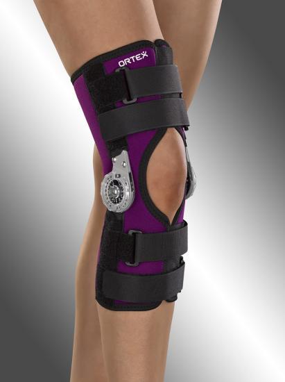 Ortéza kolenní Ortex 04B s přestavitelným rozsahem pohybu krátká