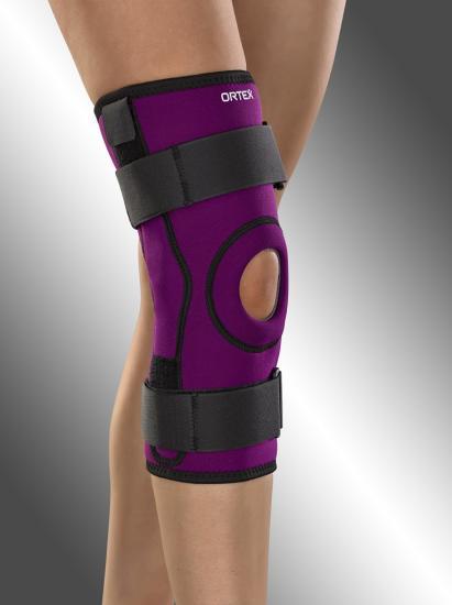 Ortéza kolenní Ortex 04C s dvouosým kloubem krátká