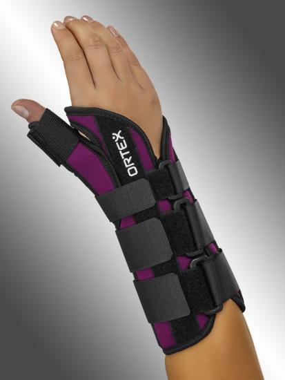 Ortéza zápěstí a palce ruky Ortex 028 fixační s dlahou