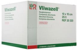Vliwazell savá komprese sterilní 10x20cm, bal. 30ks