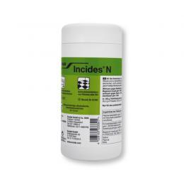 Incides N dezinfekční ubrousky v dóze 90ks