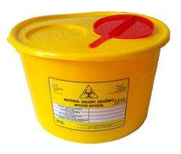 Nádoba na nebezpečný odpad 3,5-4 litry