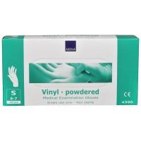 Abena vinylové rukavice s pudrem vel.S 100ks