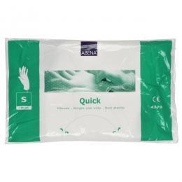 Quick plastové rukavice vel.S 100ks