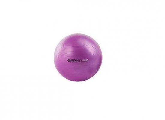 Soffball MAXAFE míč na cvičení 26 cm fialový