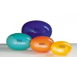 Eggball standard míč na cvičení 45cm žlutý
