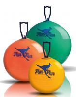PON PON Normal dětský skákací míč 53cm oranžový