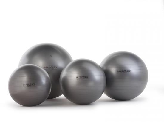 PhysioBall MAXAFE míč na cvičení 95cm antracitový