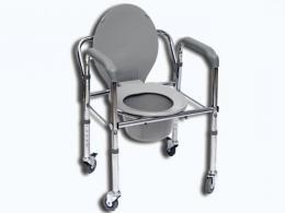 Toaletní křeslo pojízdné