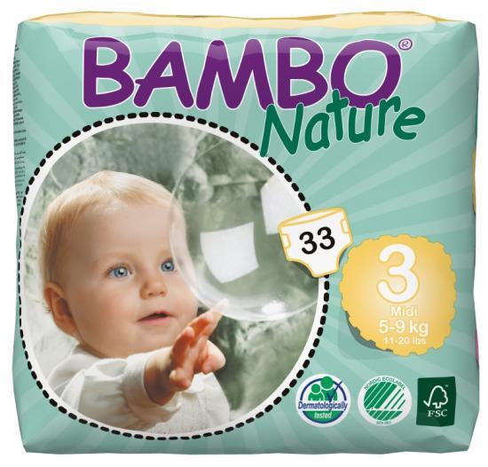 Bambo nature midi 5-9kg 33ks