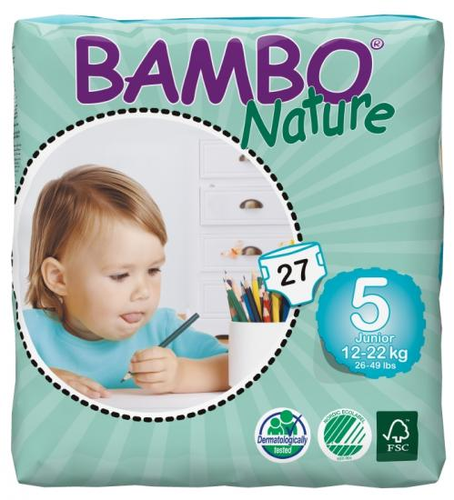 Bambo nature junior 12-22 kg 27 ks