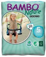Bambo nature tréninkové kalhotky junior 12-20 kg 20 ks
