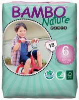Bambo nature tréninkové kalhotky XL 18-30 kg 18 ks