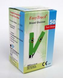 Proužky na měření glukózy Easy Touch 50 ks