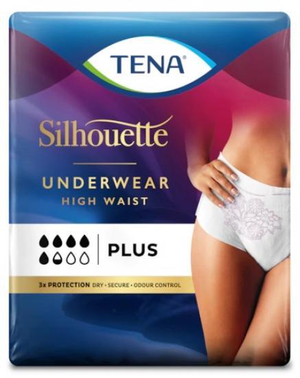 TENA Silhouette Discreet Plus M plenkové kalhotky navlékací 12 ks