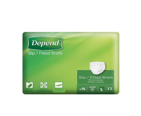 Depend Slip Super S kalhotky zalepovací 15 ks