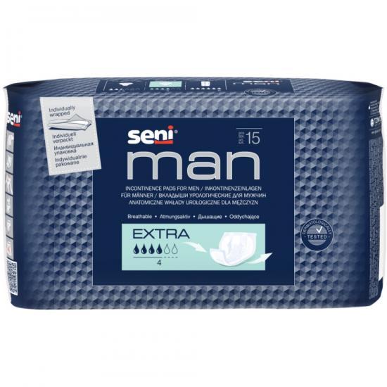 Seni Man Extra vložky pro muže 15 ks