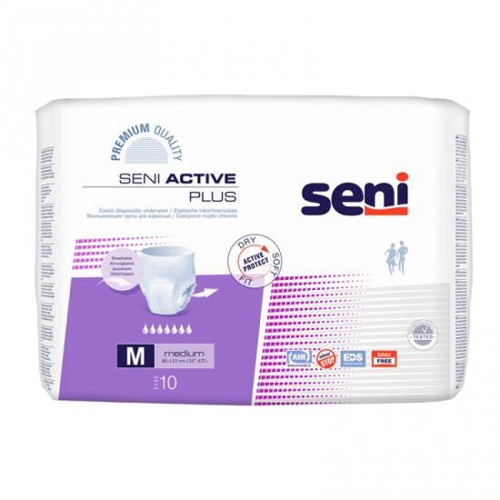 Seni Active Plus Medium kalhotky navlékací 10 ks