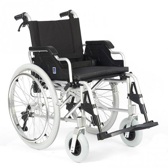 Mechanický invalidní hliníkový vozík  s rychlospojkou a pomocnou brzdou FS908LJQ